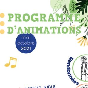 Programme d'animations 2021